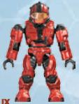 Red CQB Spartan