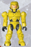 Yellow UNSC Spartan