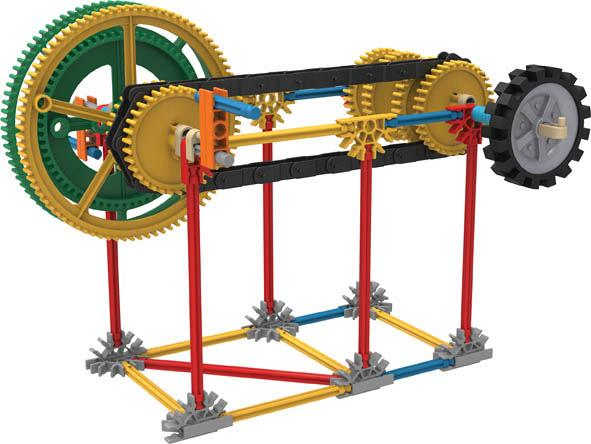 Gears Used In Toys : Bricker construction toy by knex simple machines