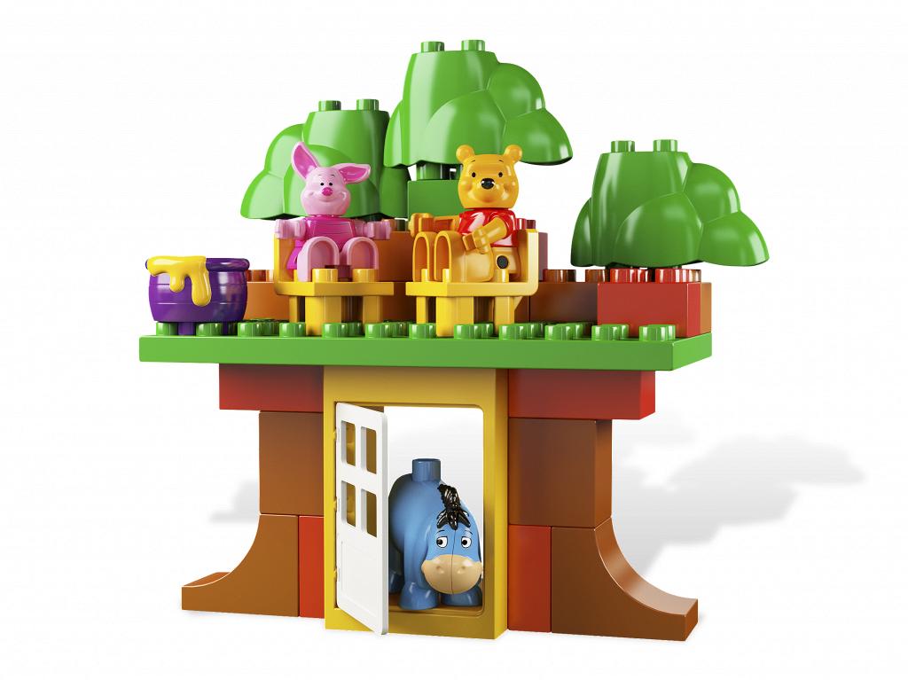Bricker construit par lego 5947 la maison de winnie l for Modele maison lego duplo