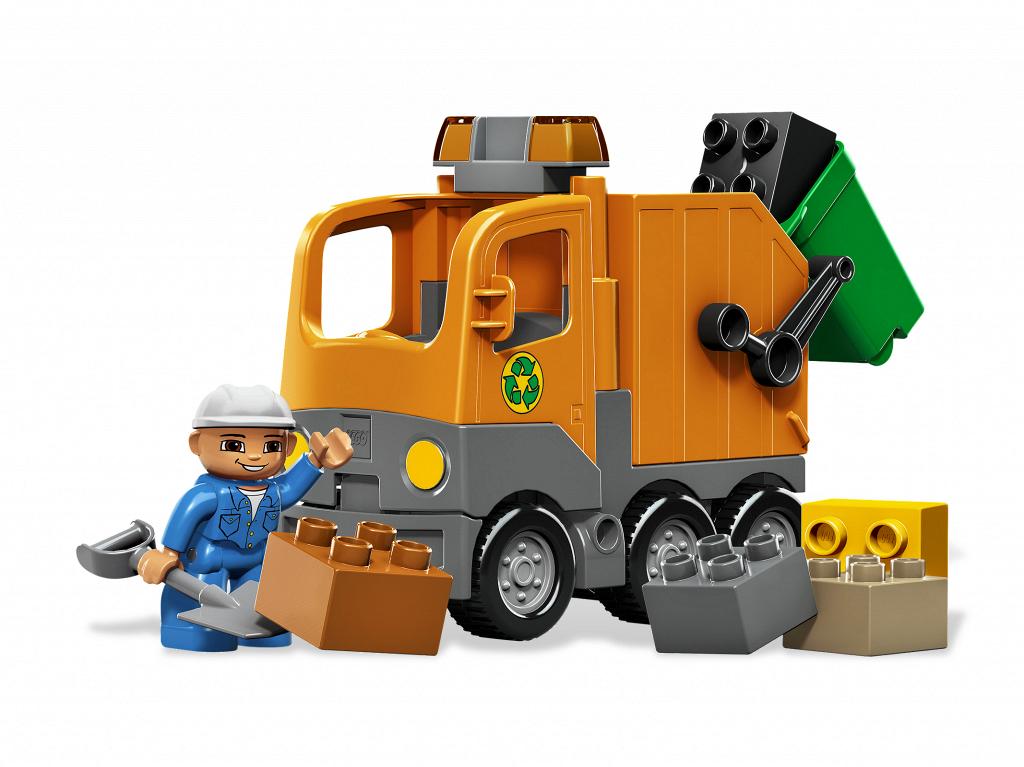 Bricker Construction Toy By Lego 5637 Garbage Truck