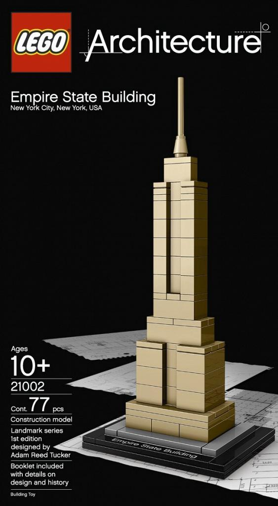 Amazon Lego Architecture Empire State Building