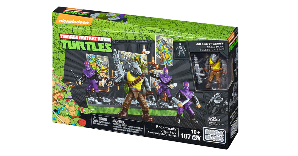 tmnt mega bloks instructions
