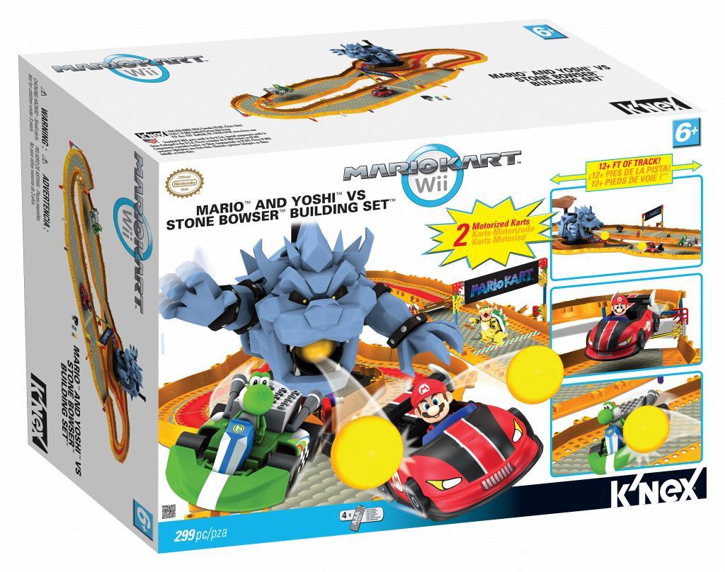 Bricker Construction Toy By Knex 38436 Mario Yoshi Vs Stone