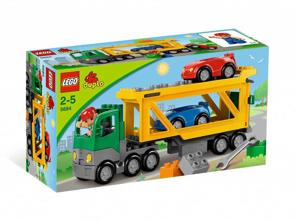 bricker lego 5684 car transporter. Black Bedroom Furniture Sets. Home Design Ideas