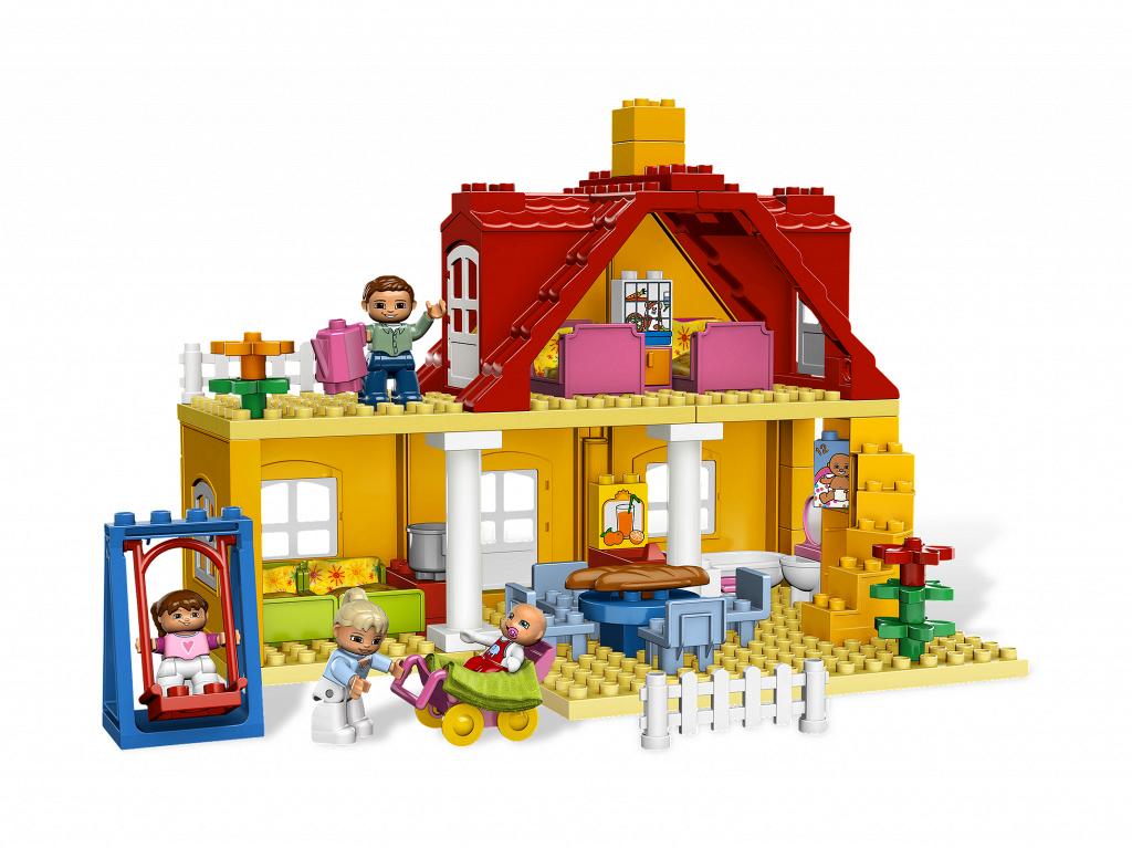 Bricker construction toy by lego 5639 family house - Lego construction maison ...
