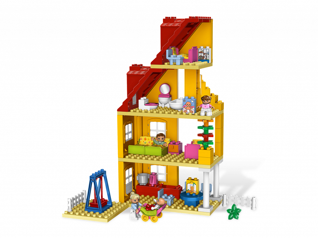 bricker construction toy by lego 5639 family house. Black Bedroom Furniture Sets. Home Design Ideas