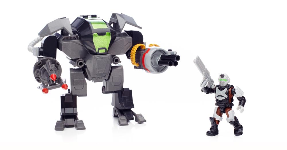 Halo Mega Bloks Cyclops Instructions