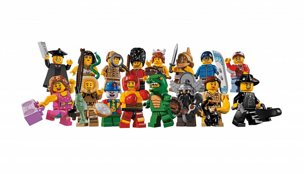 Bricker Construction Toy By Lego 8805 Minifigures Series