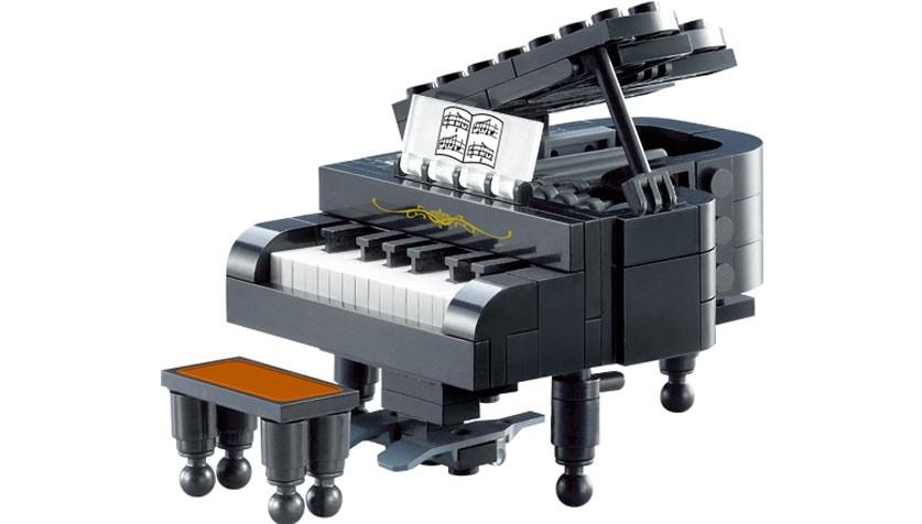 Enlightone: Construction Toy By ENLIGHTEN (Brick) 411 Piano