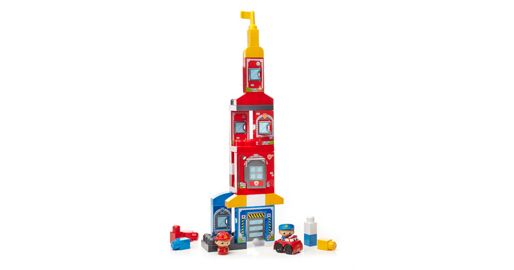 mega bloks first builders rescue squad instructions
