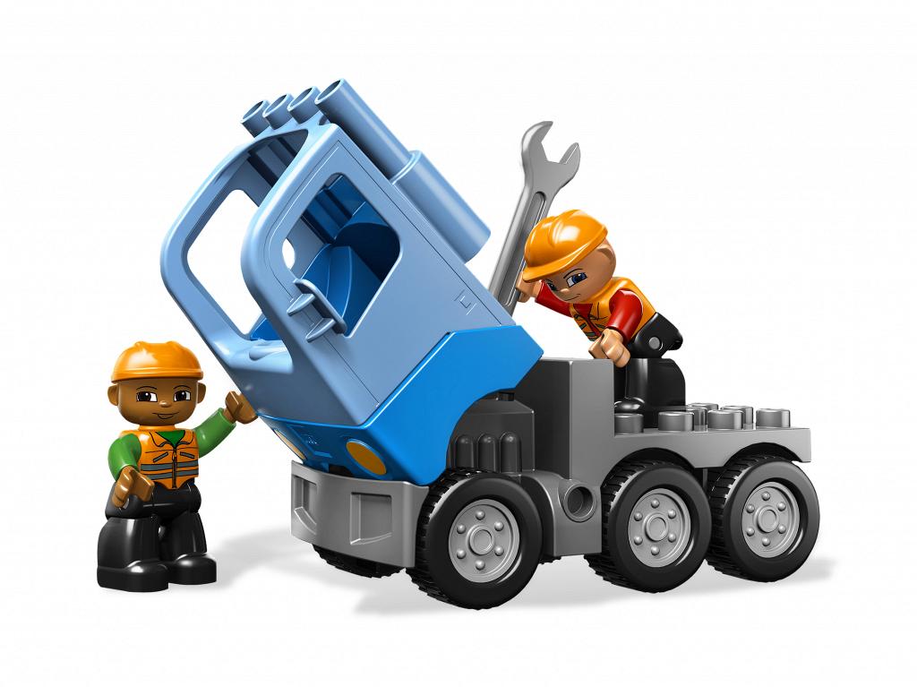 lego duplo construction site instructions