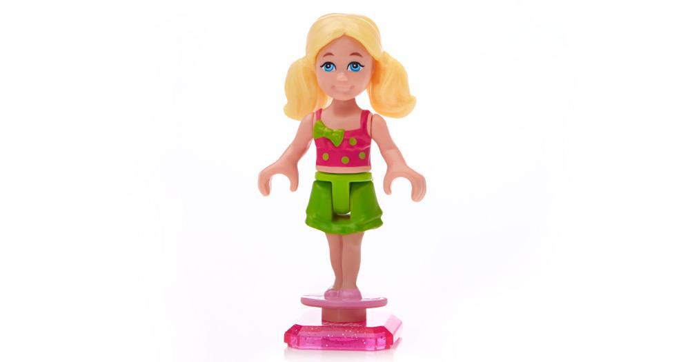 mega bloks barbie pool party instructions