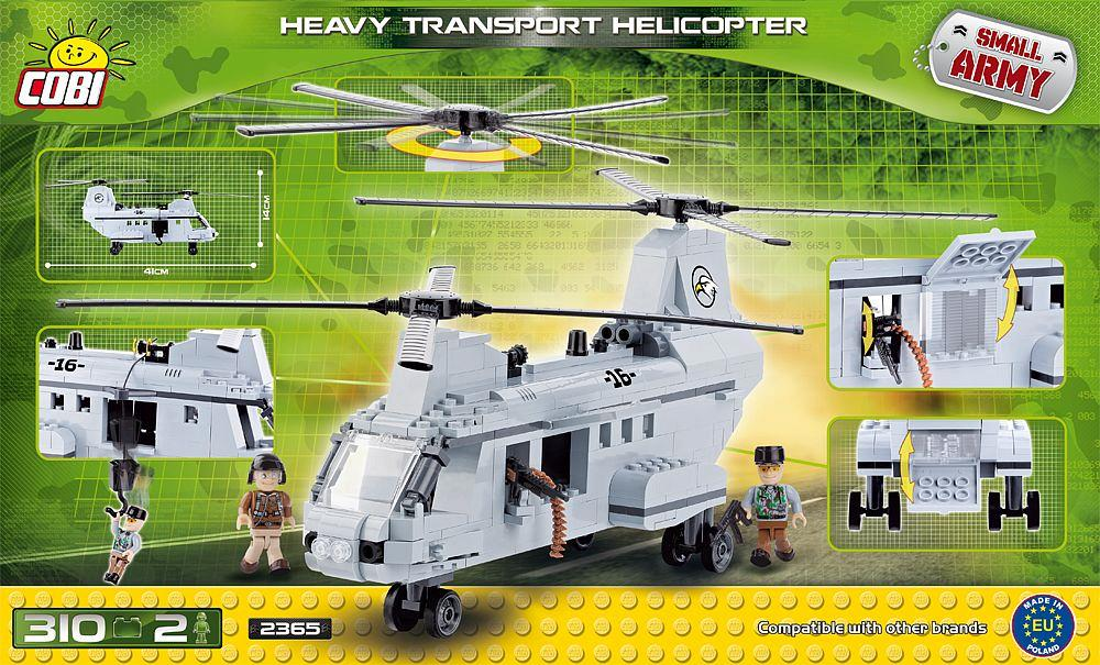 Heavy Transport Helicopter 310 Pcs Small Army Cobi