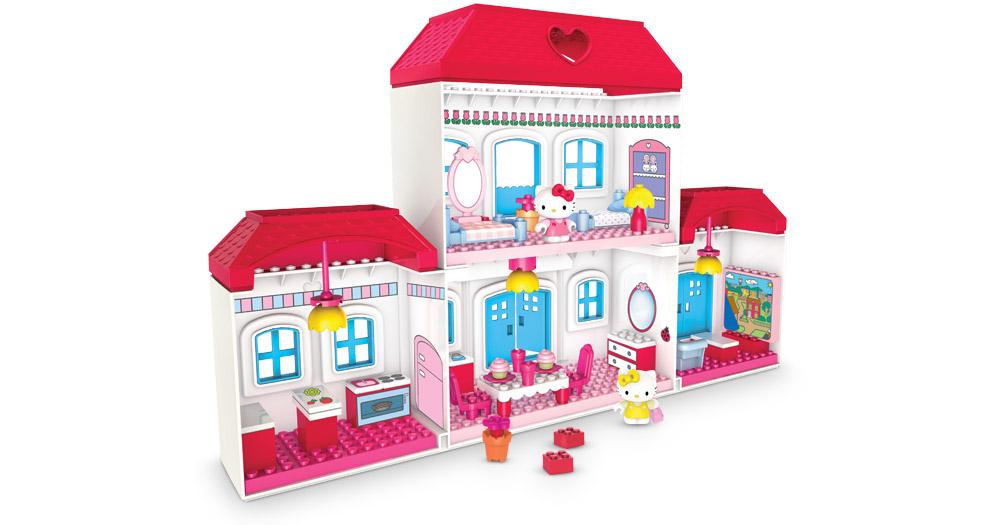 Bricker megabloks 10822 big house - Casa hello kitty ...