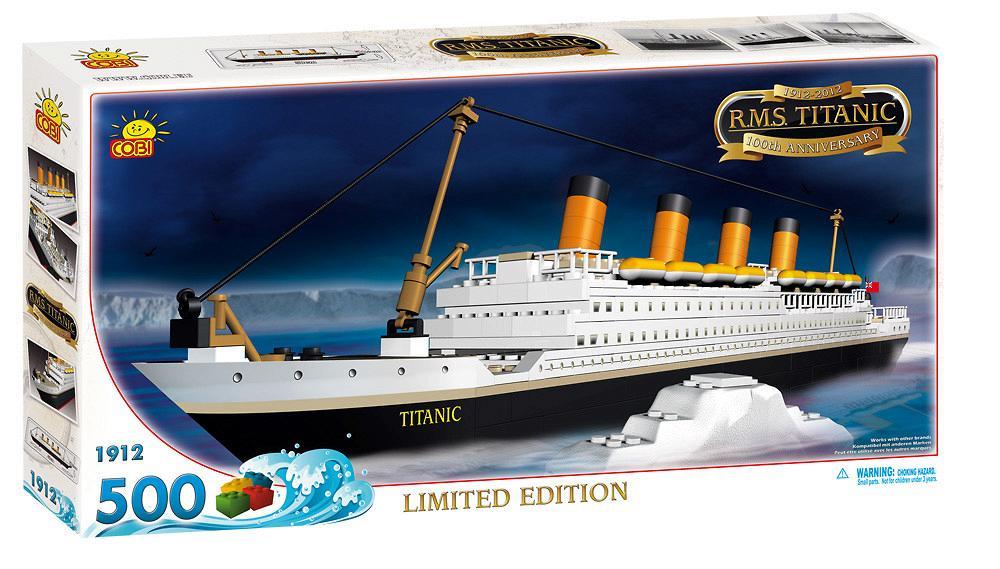 Toys R Us Titanic Model : Bricker construction toy by cobi titanic r m s