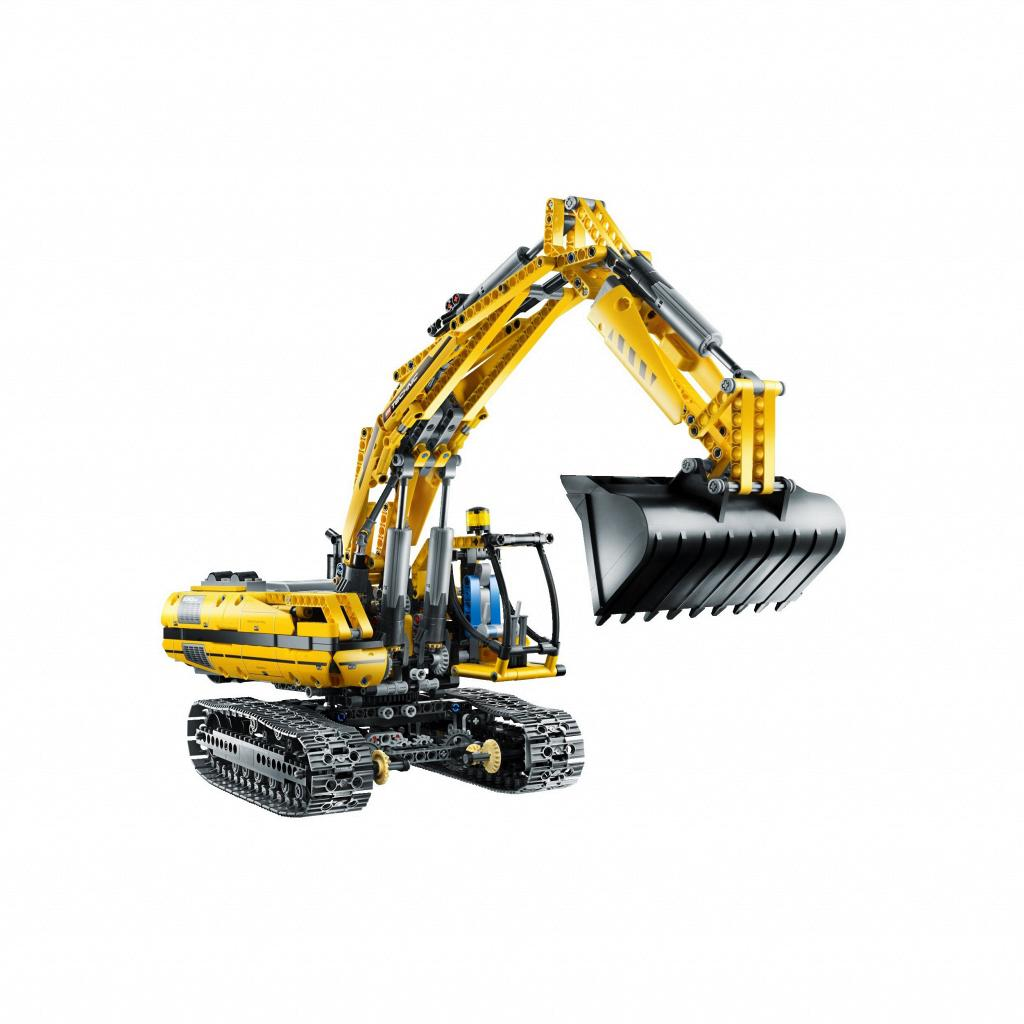 lego excavator 8043 instructions