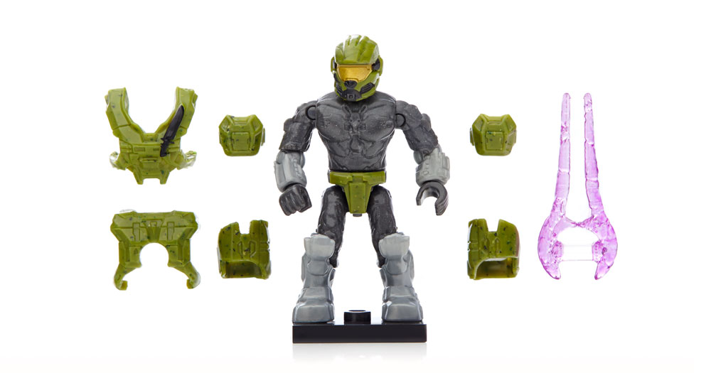 Bricker - Construction Toy by MEGABLOKS CNC83 Micro Action Figures