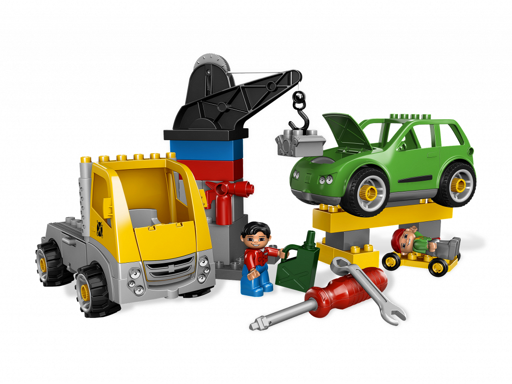 Lego Truck Instructions Garage