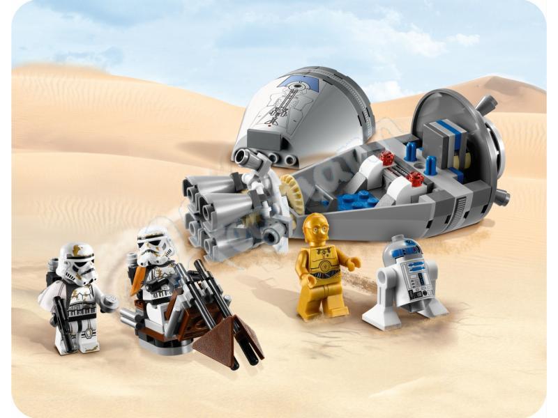 Bricker Construction Toy By Lego 9490 Droid Escape