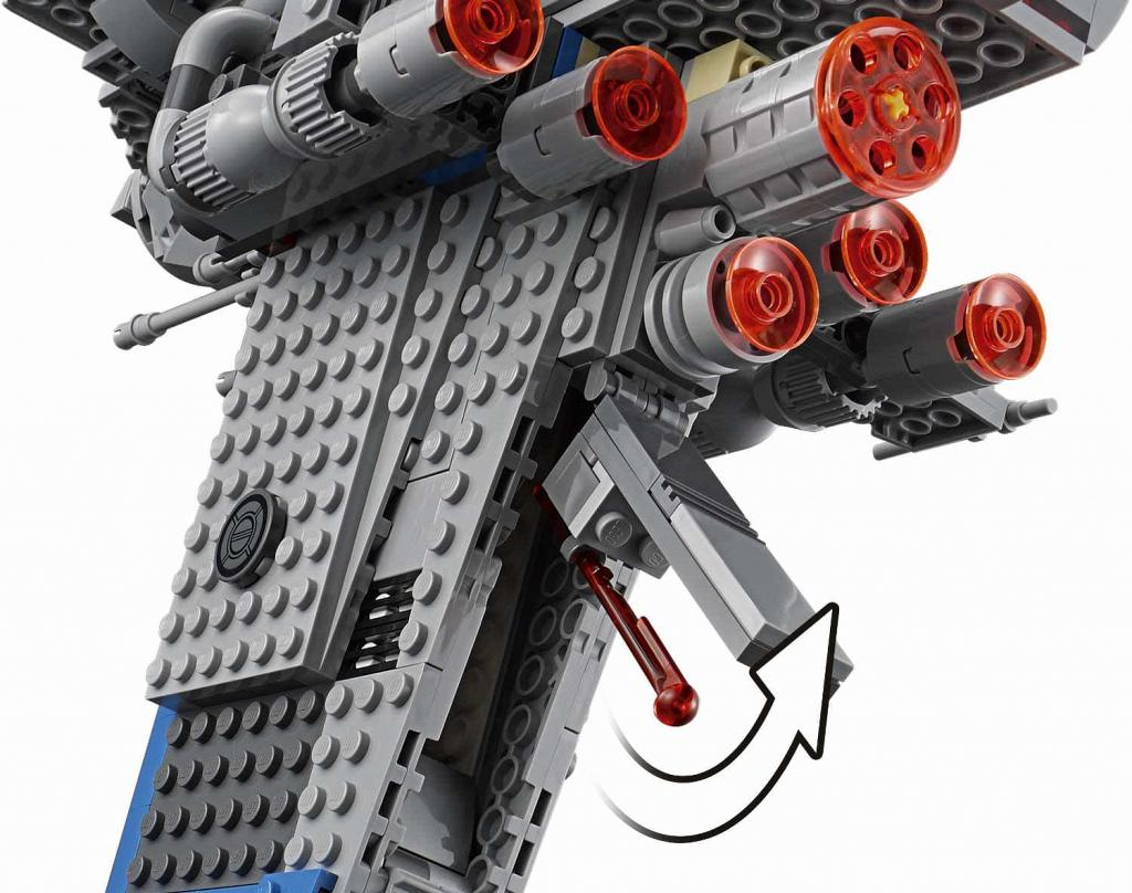 lego resistance bomber instructions