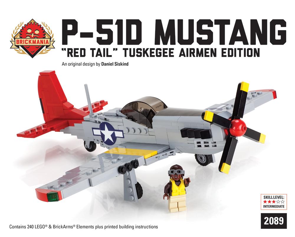 P51D Mustang Red Tail PNP 800mm 016PRT  cmcversandde