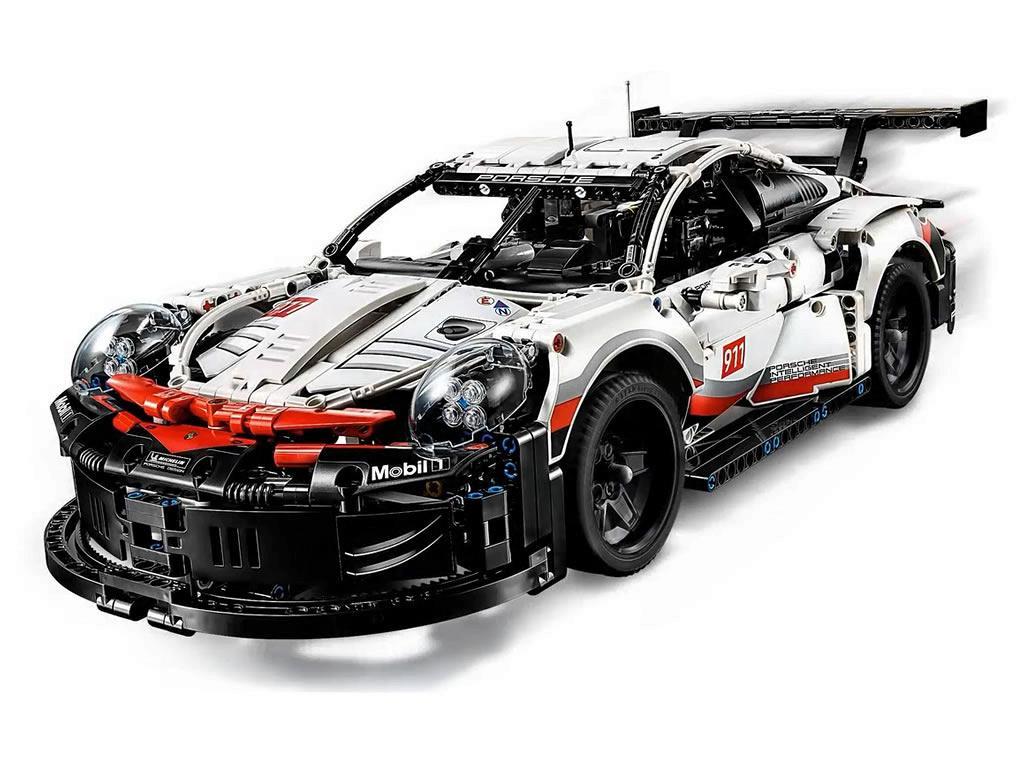 Bricker - Construction Toy by LEGO 42096 Porsche 911 RSR
