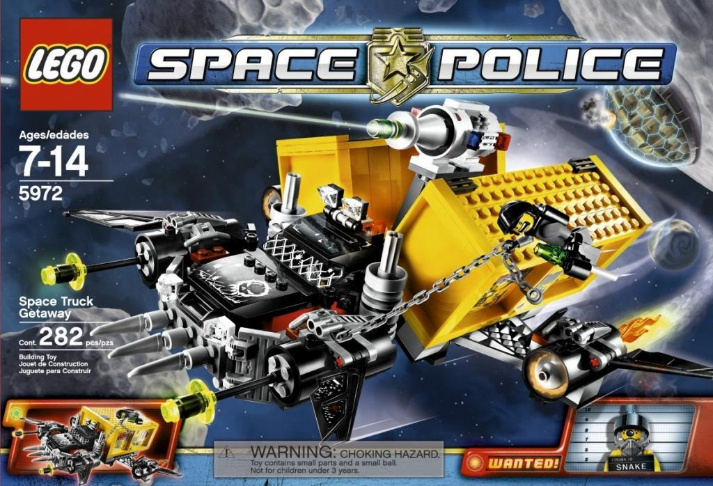 Lego Space Police Speed Build