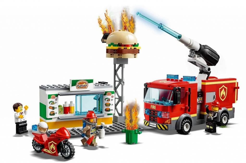 bricker gioco di costruzioni di lego 60214 burger bar. Black Bedroom Furniture Sets. Home Design Ideas