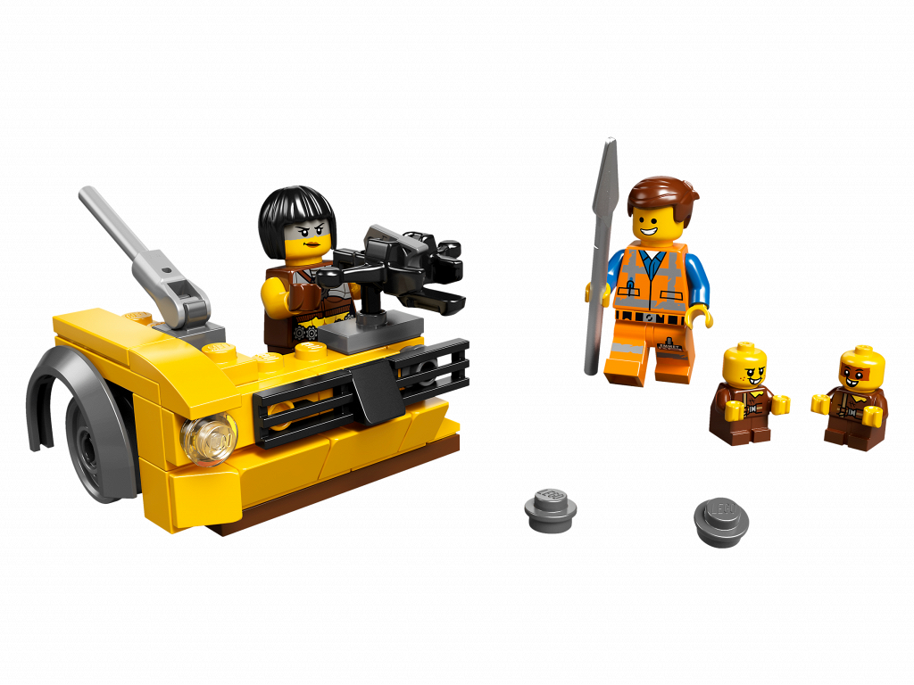 Lego Movie 2 Minifigure Pack 853865 Sewer Babies Emmet and Sharkira 48 Pieces