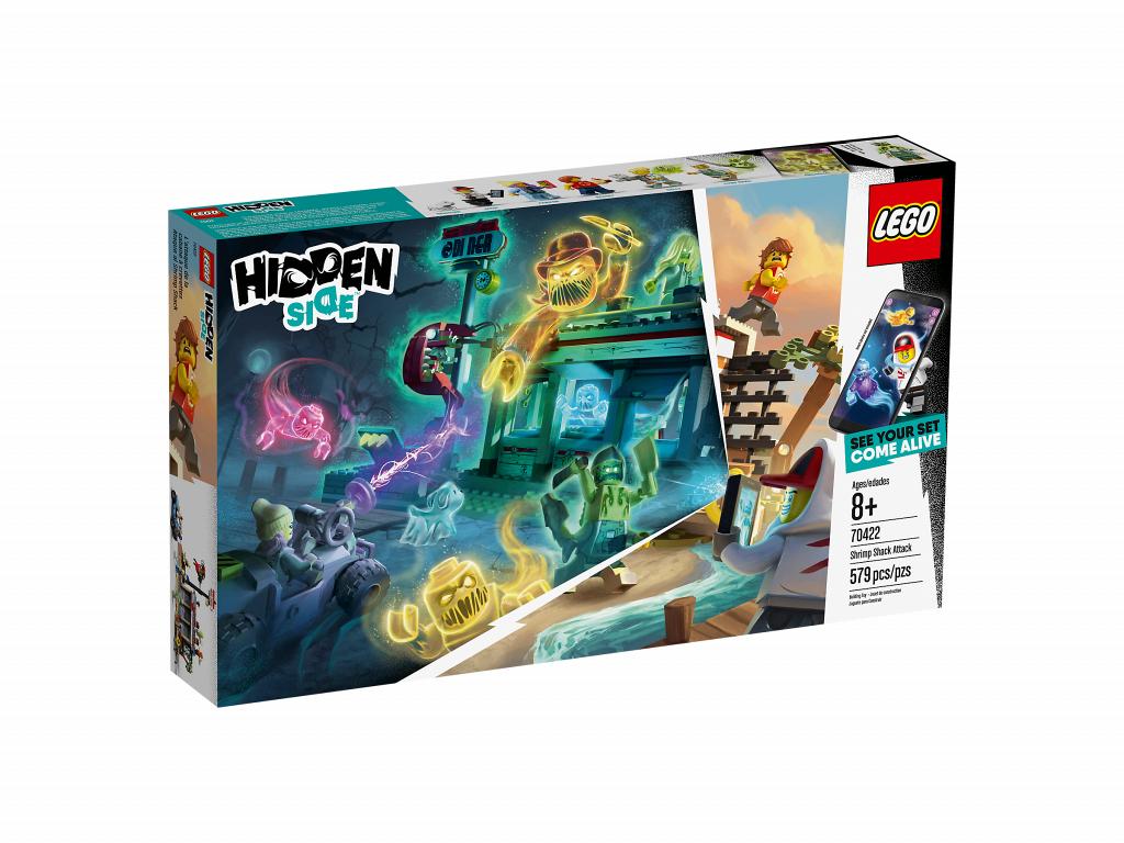 Фотообзор «Нападение на закусочную» из серии Hidden Side LEGO