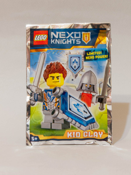 LEGO 271608 Review - Kid Clay (Promo with a shield)