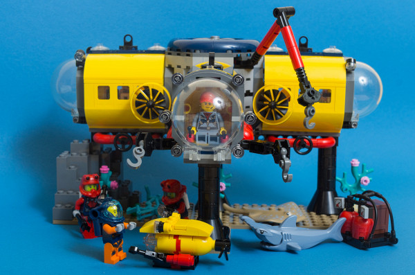 LEGO City 60265 - Ocean: Exploration Base Set Review