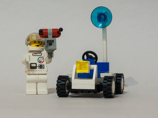 LEGO 6516 Review - Moon Walker