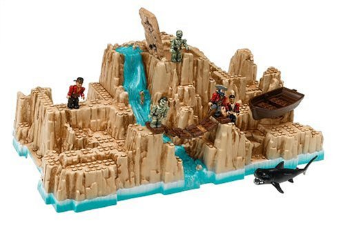 Mega Bloks Pyrates Battle For Treasure Island
